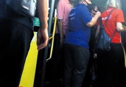 Son dakika...Metrobüste taciz Kameralar tespit etti...