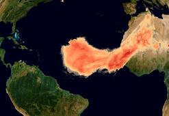 Son dakika: Uzaydan böyle görüntülendi... Godzilla 8 bin kilometre yok katetti