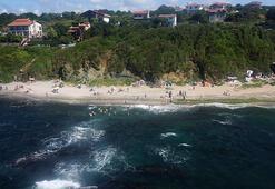 İstanbul plajarında havadan denetim