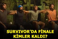 Survivorda finale kimler kaldı Survivorda kim elendi 12 Temmuz