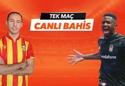 Yeni Malatyaspor - Beşiktaş canlı bahis heyecanı Misli.comda