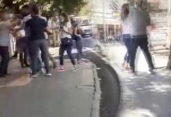 Minibüste öksürük kavgası Kadın ve erkek yolcu birbirine girdi