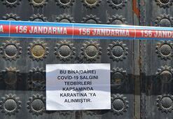 Şanlıurfa'da 142 ev karantinaya alındı