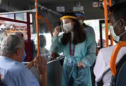 Ankarada maske takmayan 1390 kişiye para cezası