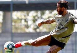 Sergio Ramostan antrenmanda muhteşem gol