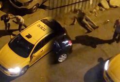 İstanbul'da şoke eden görüntü Taksici nakavt etti...
