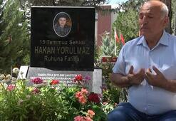Oğlu 15 Temmuzda şehit düşen baba konuştu FETÖ'cüler hainliklerinden vazgeçmiş değiller