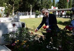 Adanada 15 Temmuz şehitleri mezarları başında anıldı
