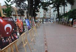 Bursa İnegöl'de 15 Temmuz sergisi açıldı