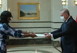 Fildişi Sahili Büyükelçisinden Erdoğana güven mektubu
