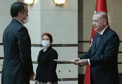 Polonya Büyükelçisi, Cumhurbaşkanı Erdoğana güven mektubu sundu