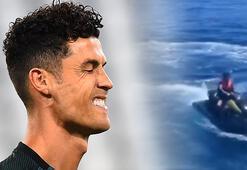 Ronaldo'nun oğlunun görüntüleri tepki topladı Polis inceleme başlattı