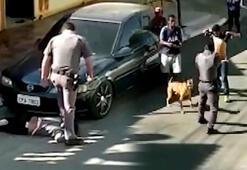 Brezilyada polis şiddeti Acımasızca...