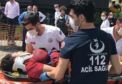 Son dakika: Beşiktaşta dehşet Yaya geçidinde halk otobüsü çaptı