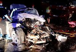 Kocaelide feci kaza: 2 kişi öldü, 1 kişi yaralandı