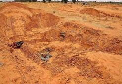 Libyada toplu mezarlardan 40 günde 225 ceset çıkarıldı