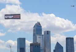 ABDde 15 Temmuz, ilan kamyonları ve pankart taşıyan uçaklarla anlatıldı