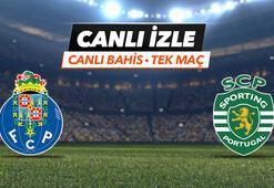 Porto - Sporting maçı canlı bahis heyecanı Misli.comda