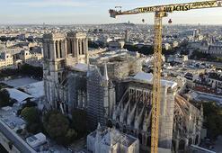 Notre Dameın çan kulesi aslına uygun restore edilecek