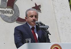 Meclis Başkanı Mustafa Şentoptan 15 Temmuz açıklaması