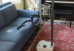 ABDli firma satışa çıkardı Ev işlerini yapan robot...