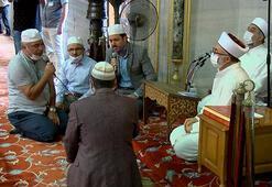 Sultanahmet Camiinde 15 Temmuz Şehitleri için mevlit okutuldu