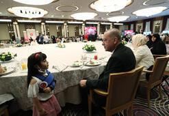 Cumhurbaşkanı Erdoğan şehit aileleri ile Beştepede