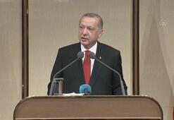 Cumhurbaşkanı Erdoğan, Beştepede şehit aileleri ile buluştu