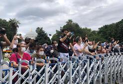 Bugün Ayasofya Yüzlerce kişi izledi