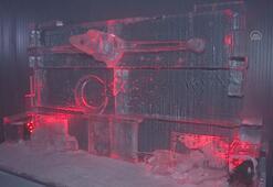 Türkiyenin tek buz müzesi açıldı