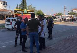 Antalyada bıçaklı, sopalı kavga: