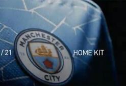 Manchester City yeni sezon iç saha formasını tanıttı...