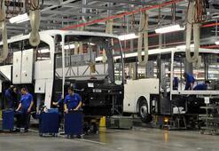 Türkiyeden 86 ülkeye otobüs, minibüs ve midibüs ihracatı yapıldı