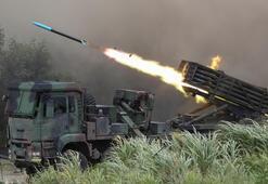 Tayvandan Çini kızdıracak adım Sınırda gövde gösterisi...