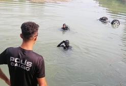 Adanada akılalmaz olay Tansiyonu düşen sürücü göle uçtu