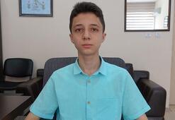 LGSde tam puan alan Ali Fuad Erkan, mühendis olmak istiyor