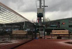 Ankara Tenis Kulübünde koronavirüs şoku