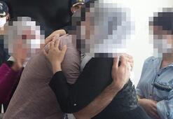 Mersinde ikna edilen PKKlı teslim oldu