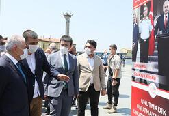 Binali Yıldırım, İzmirde 15 Temmuz Demokrasi Şehitleri Anıtının açılışına katıldı