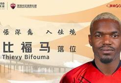 Çin ekibi Schenzhen FC, Bifouma transferini açıkladı