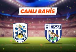 Huddersfield - West Bromwich maçı Tek Maç ve Canlı Bahis seçenekleriyle Misli.com'da