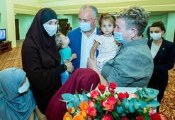 Son dakika... MİTten Suriyede operasyon Natalia Barkal ve 4 çocuğu kurtarıldı