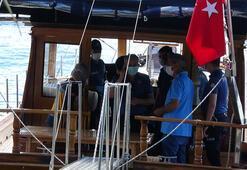 Kuruçeşmede teknede ceset bulundu
