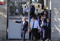 Ayasofya Camisi açılışa hazırlanıyor Koordinasyon toplantısı yapıldı