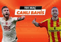Galatasaray - Göztepe maçı canlı bahis heyecanı Misli.comda