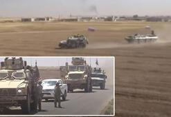 Son dakika: Tehlikeli gerginlik... ABD ve Rus güçleri Fırat'ın doğusunda burun buruna
