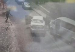Bağcılarda polise silahlı saldırı kamerada