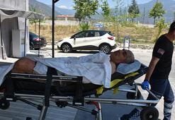 Bağırışlarına koştular Elektrik sayacı okumaya giden görevli dehşeti yaşadı
