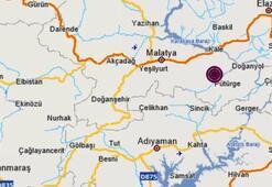 Son dakika haberi: Malatyada korkutan deprem Depremin büyüklüğü...