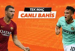Roma -Inter maçıTek Maç ve Canlı Bahis seçenekleriyle Misli.com'da